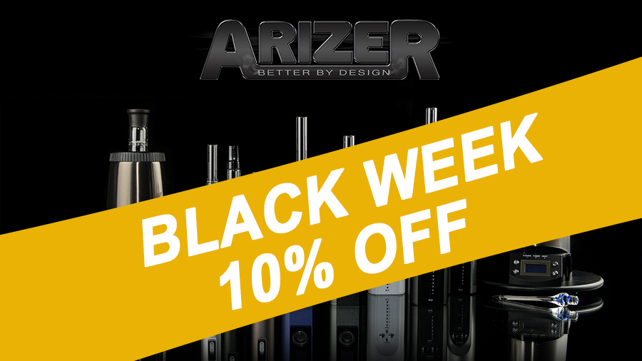 Black Friday Hora de comprar seu Arizer Black Friday: Hora de comprar seu Arizer!