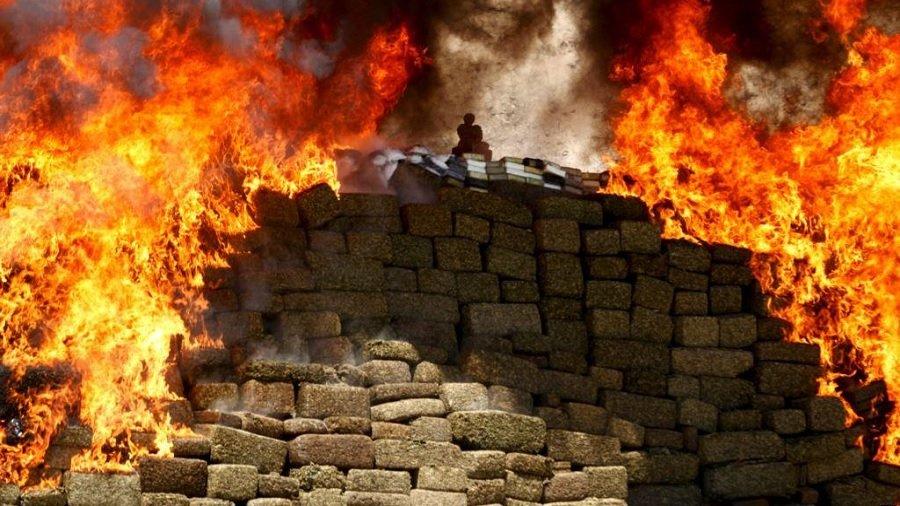 drogas queimando Guerra às drogas da ONU tem sido um fracasso no mundo, segundo relatório