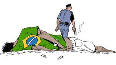 charge latuff 400x225 O RACISMO E O PITO DO PANGO