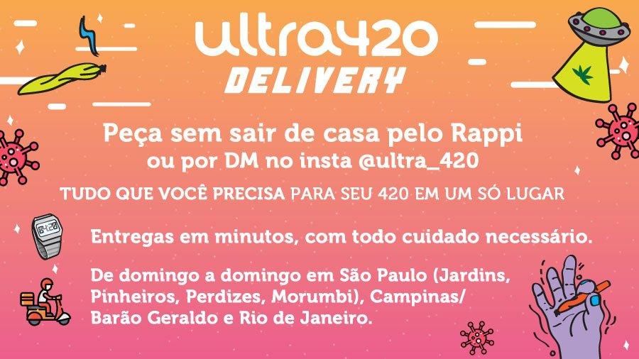 Capa Delivery Ultra420: rapidez e discrição são diferenciais no serviço de entrega de acessórios canábicos