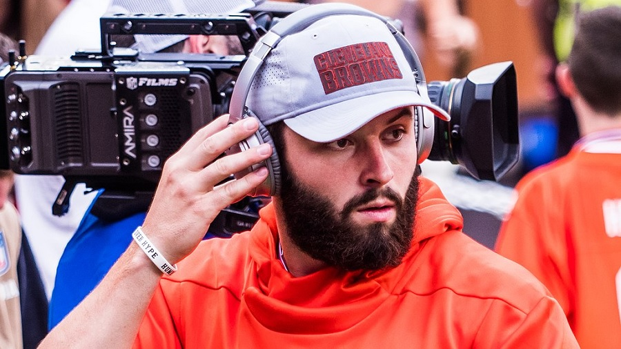 baker mayfield Baker Mayfield, do Browns, se torna embaixador de marca de canabidiol