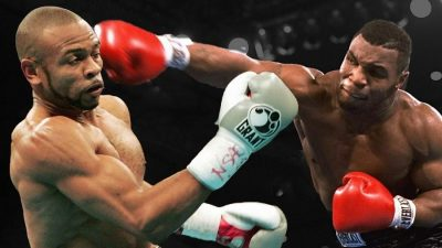 roy jones mike tyson 400x225 Mike Tyson vs. Roy Jones Jr. terá maconha liberada
